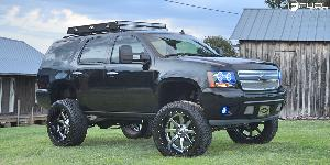 Chevrolet Tahoe with Fuel 2-Piece Wheels Maverick - D260