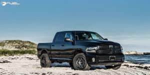Dodge Ram 1500 with Fuel 2-Piece Wheels Hostage II - D232