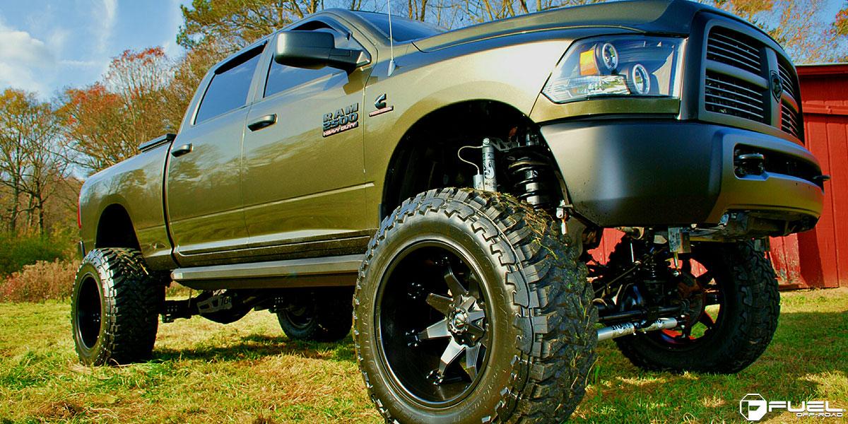 Dodge Ram 2500 Octane - D509 Gallery - Fuel Off-Road Wheels