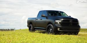 Dodge Ram 1500 with Fuel 1-Piece Wheels Hostage - D531