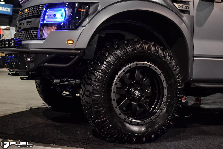 Ford F-150 Raptor Trophy - D551 Gallery - Fuel Off-Road Wheels