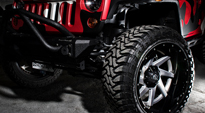 Jeep Wrangler with Fuel 2-Piece Wheels Renegade - D263