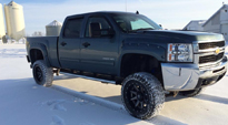 Chevrolet Silverado 2500 with Fuel 2-Piece Wheels Rampage - D238