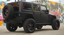 Jeep Wrangler with Fuel 2-Piece Wheels Full Blown - D254