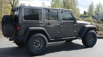 Jeep Rubicon with Fuel 1-Piece Wheels Trophy - D552