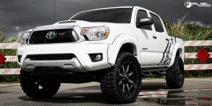 Toyota Tacoma with Fuel 1-Piece Wheels Maverick - D537