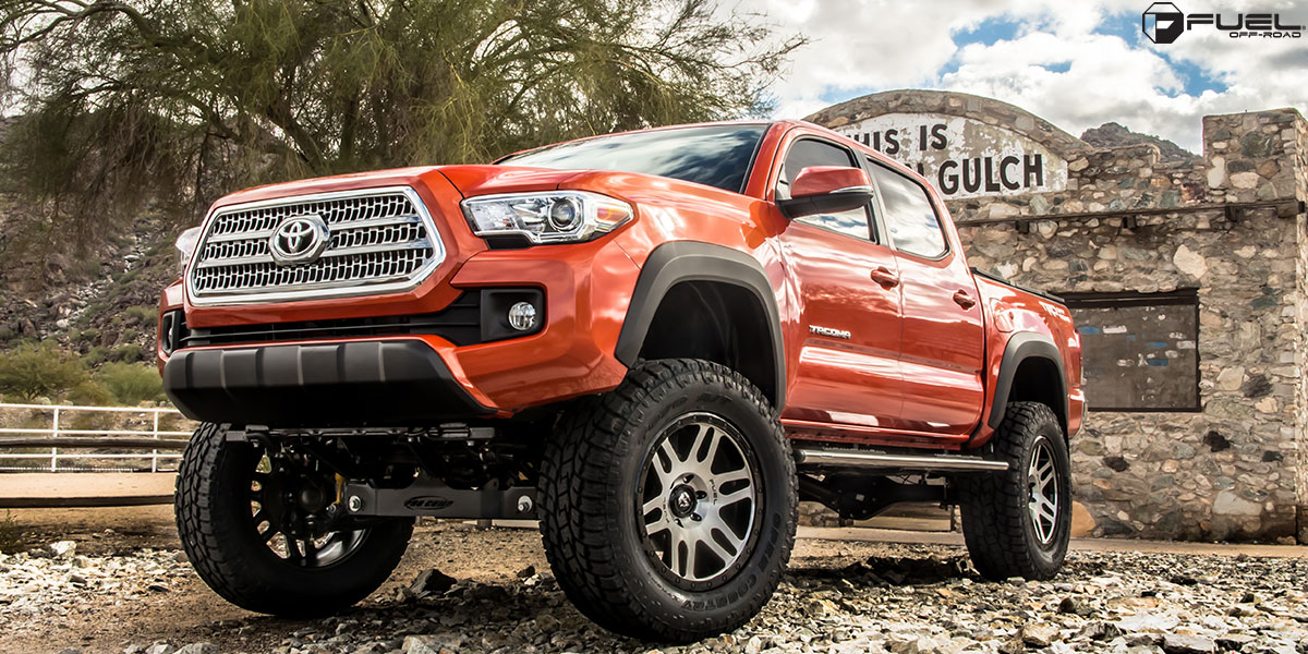toyota tacoma recoil d585 gallery fuel off road wheels. Black Bedroom Furniture Sets. Home Design Ideas