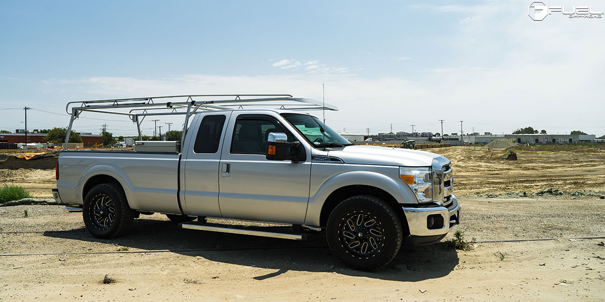 Ford Super Truck >> Ford F-250 Super Duty Triton - D581 Gallery - Fuel Off-Road Wheels