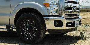 Ford F-250 Super Duty with Fuel 1-Piece Wheels Triton - D581