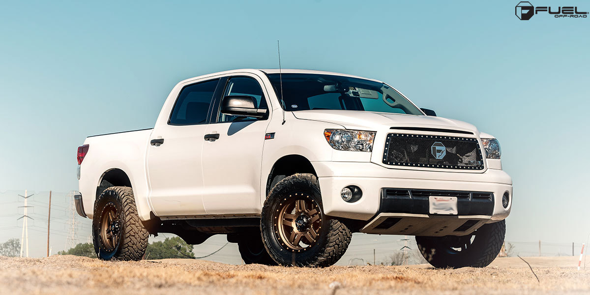 Toyota Tundra Anza - D583 Gallery - Fuel Off-Road Wheels