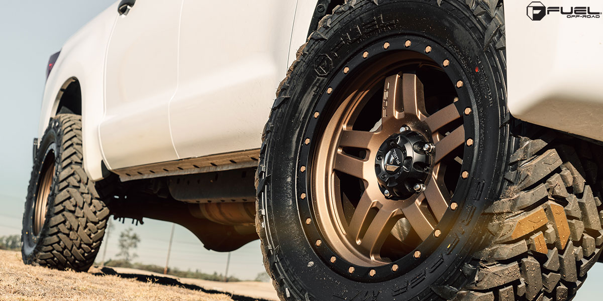 Toyota Tundra Anza D583 Gallery Fuel Off Road Wheels