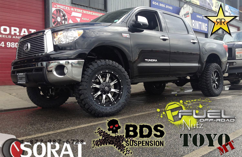 Toyota Tundra Nutz - D252 Gallery - Fuel Off-Road Wheels