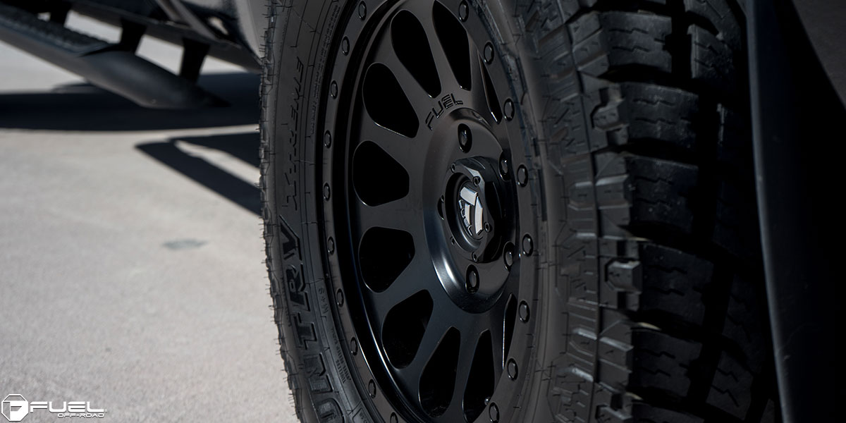 Toyota Tundra Vector - D579 Gallery - Fuel Off-Road Wheels