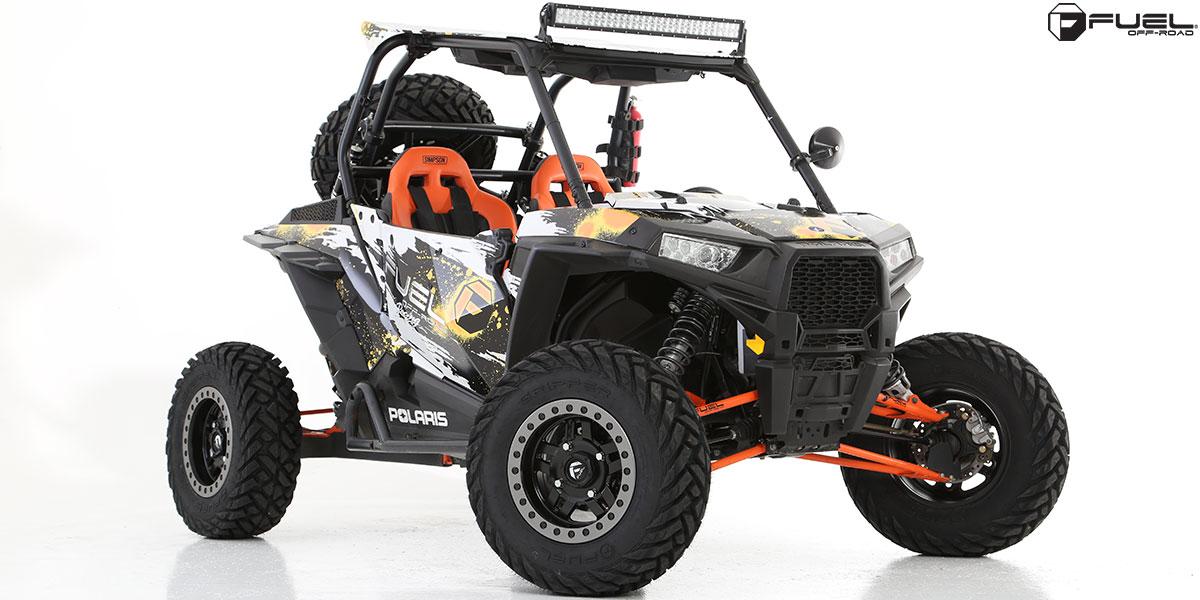 ATV - Polaris RZR Beadlock Anza - D917 Beadlock
