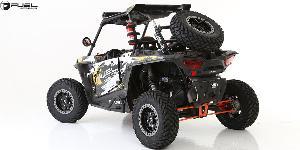 ATV - Polaris RZR with Fuel UTV Wheels Anza - D917 Beadlock