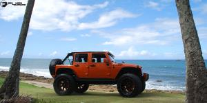 Jeep Wrangler with Fuel Forged Wheels FF07