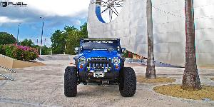 Jeep Wrangler with Fuel 2-Piece Wheels Crush - D268