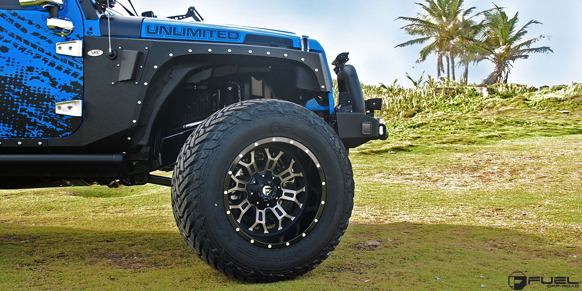 Jeep Wrangler Crush - D268 Gallery - Fuel Off-Road Wheels
