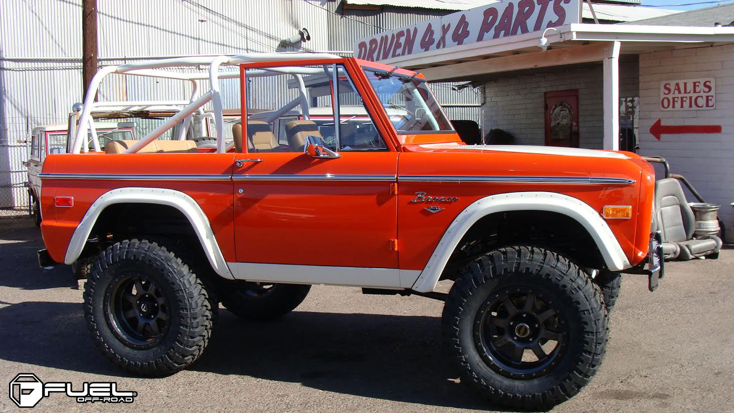Fuel Dually Wheels >> Ford Bronco Trophy - D551 Gallery - Fuel Off-Road Wheels