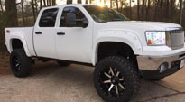 GMC Sierra 1500 with Fuel Deep Lip Wheels Maverick - D537