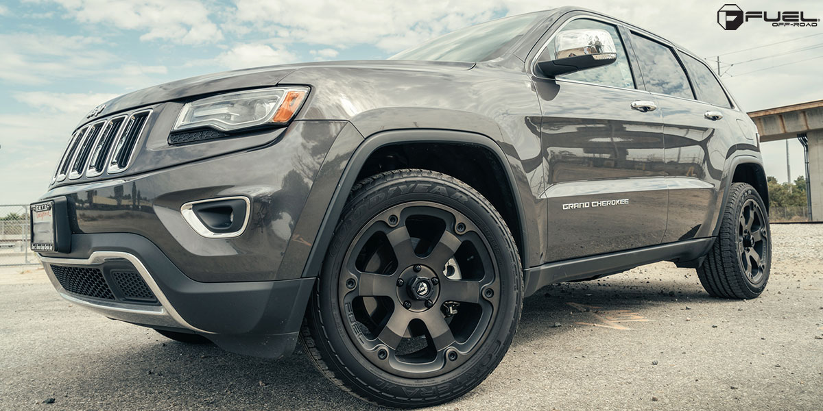 Jeep Grand Cherokee With Fuel 1 Piece Wheels Beast   D564