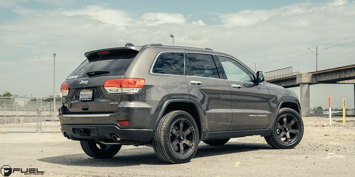 Jeep Grand Cherokee Beast D564 Gallery Fuel Off Road