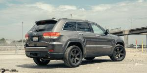 Jeep Grand Cherokee with Fuel 1-Piece Wheels Beast - D564