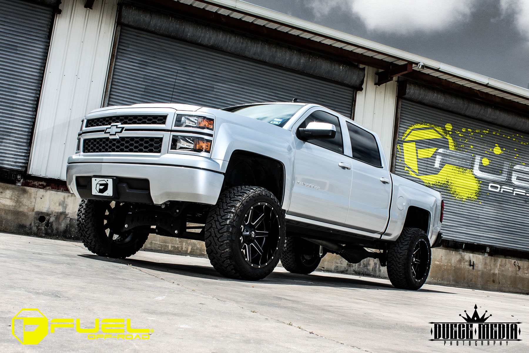 Chevrolet Silverado 1500 HD Maverick - D262 Gallery - Fuel Off-Road Wheels
