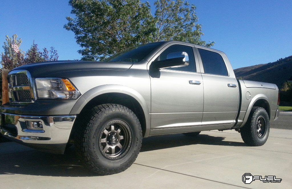 Dodge Ram 1500 Trophy - D552 Gallery - Fuel Off-Road Wheels