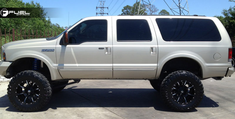 Ford Excursion Nutz D251 Gallery Fuel Off Road Wheels