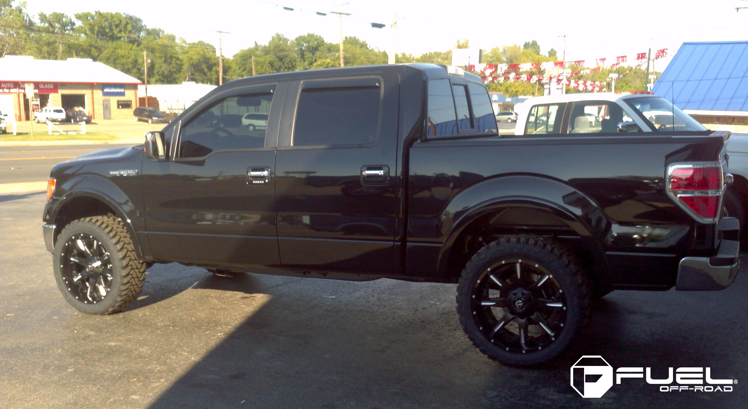 Ford F 150 Nutz D251 Gallery Fuel Off Road Wheels