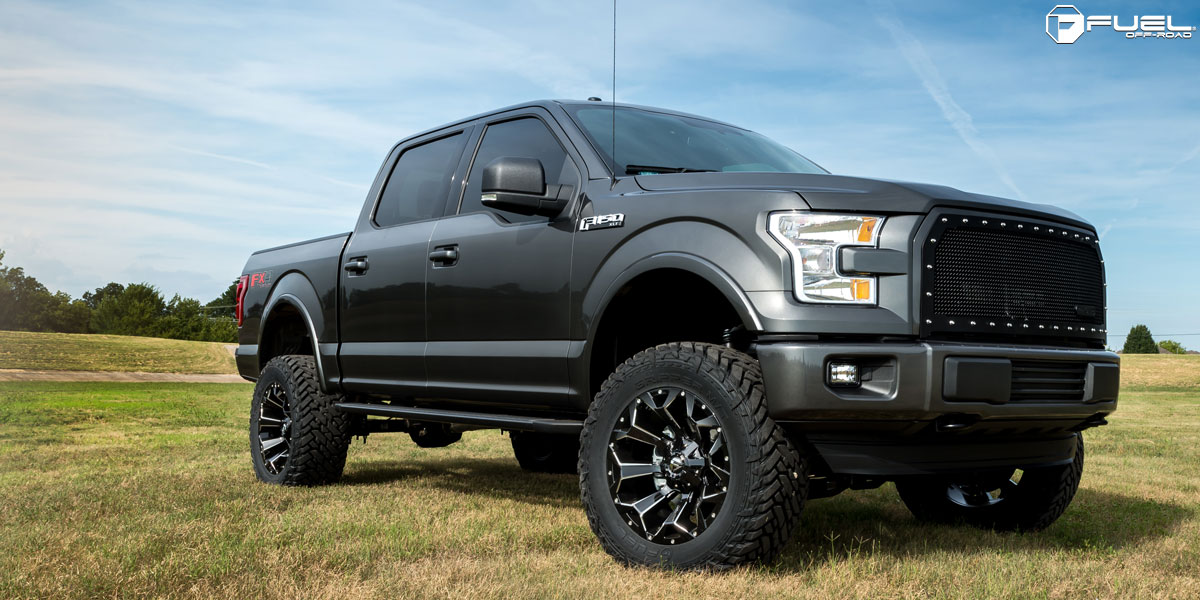 Ford F 150 Assault D576 Gallery Fuel Off Road Wheels