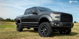 Ford F-150 with Fuel 1-Piece Wheels Assault - D576