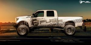 Ford F-250 Super Duty with Fuel Forged Wheels FF19