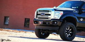Ford F-250 Super Duty with Fuel 1-Piece Wheels Maverick - D537