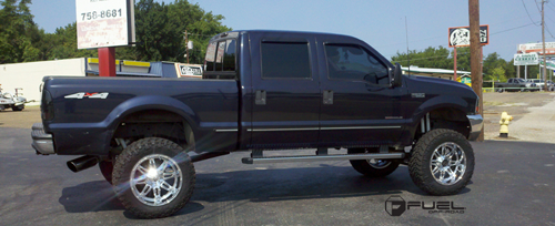 1999 Ford F-250 Super Duty with Fuel Deep Lip Wheels Hostage - D530