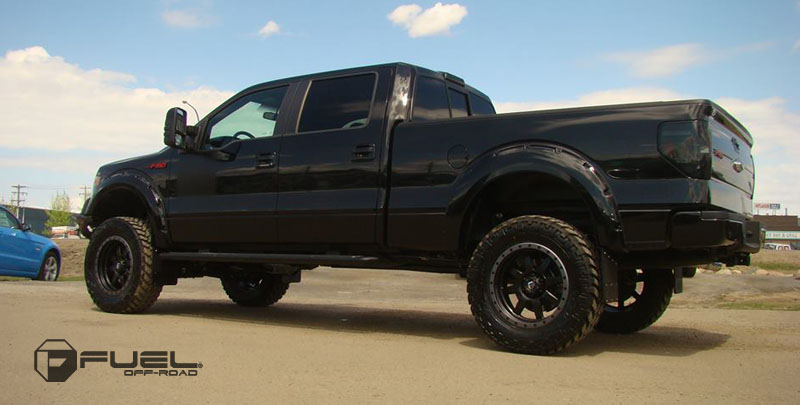 Ford F-150 with Fuel 1-Piece Wheels