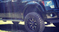 Ford F-150 with Fuel 1-Piece Wheels Throttle - D513
