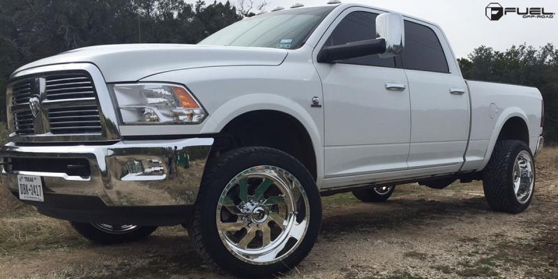 Dodge Ram 2500 with Fuel Forged Wheels FF03