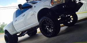 Dodge Ram 3500 Dual Rear wheel with Fuel Dually Wheels Renegade Dually Rear - D265