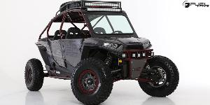 ATV - Polaris RZR 1000 with Fuel UTV Wheels Anza - D918 Beadlock