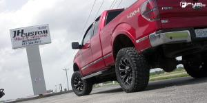 Ford F-150 with Fuel 1-Piece Wheels Assault - D546