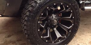 Toyota Tacoma with Fuel 1-Piece Wheels Assault - D546