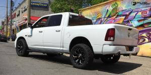 Dodge Ram 1500 with Fuel 1-Piece Wheels