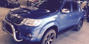 Toyota Hilux with Fuel 1-Piece Wheels Beast - D564