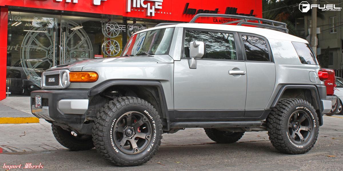 Toyota FJ Cruiser Beast  D564 Gallery  Fuel OffRoad Wheels