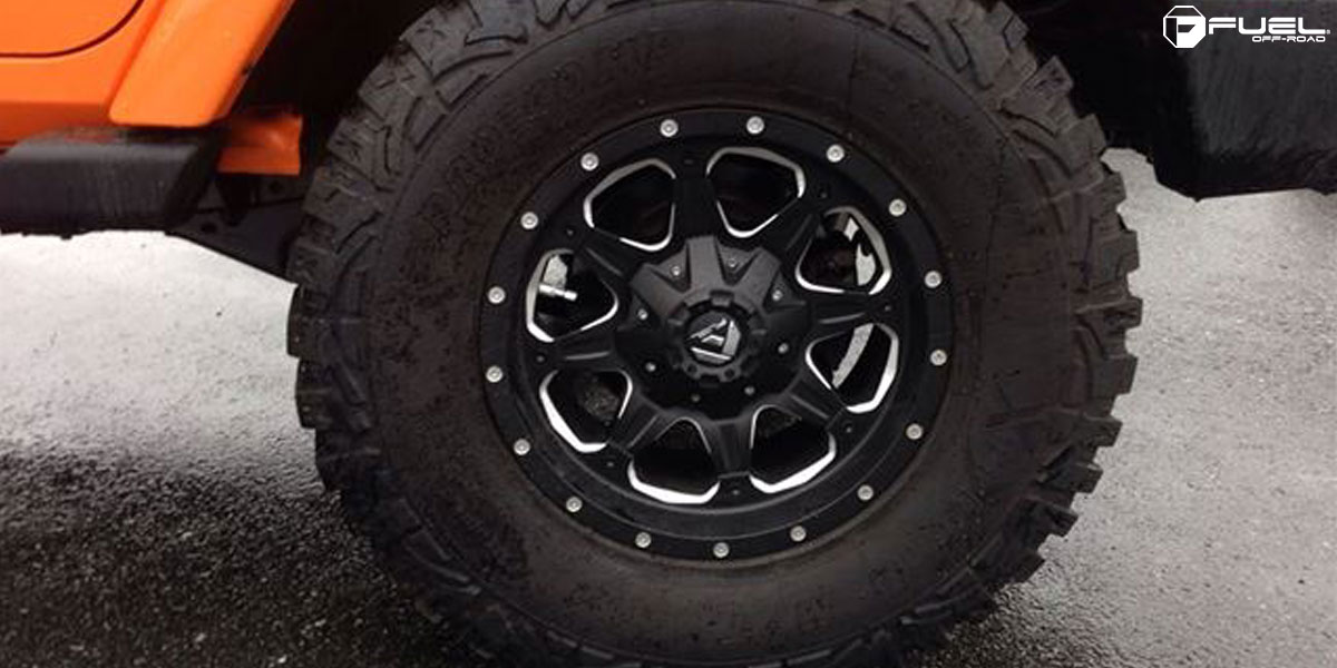 Jeep Wrangler Black Matte >> Jeep Wrangler Boost - D534 Gallery - Fuel Off-Road Wheels