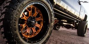 Chevrolet Silverado 2500 HD with Fuel 2-Piece Wheels