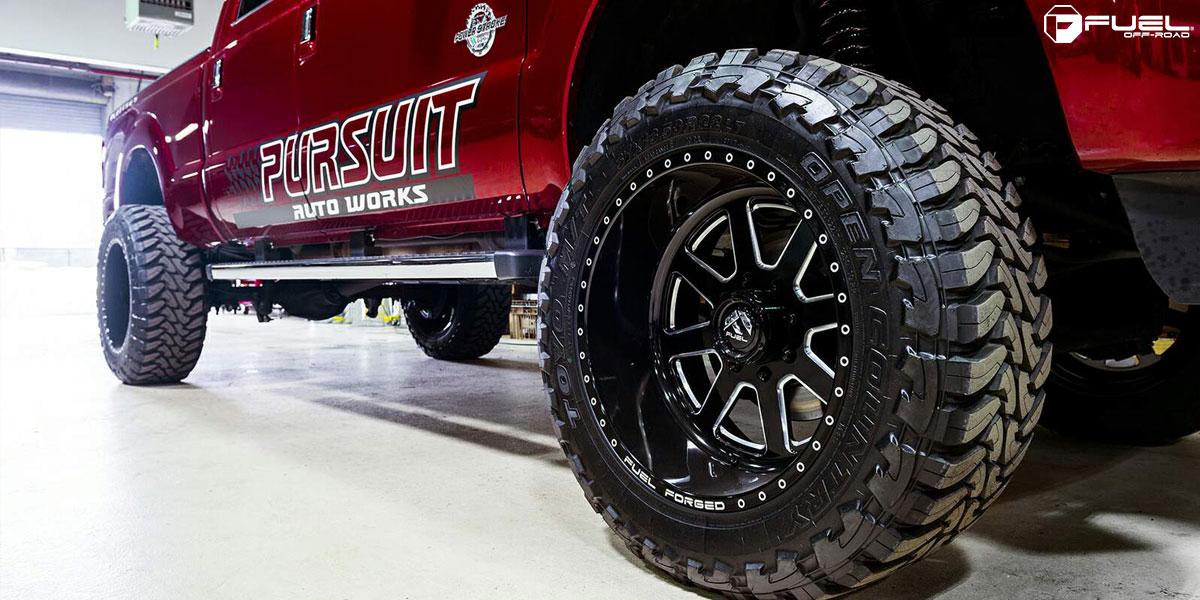 Fuel Dually Wheels >> Ford F-350 FF09 Gallery - Fuel Off-Road Wheels