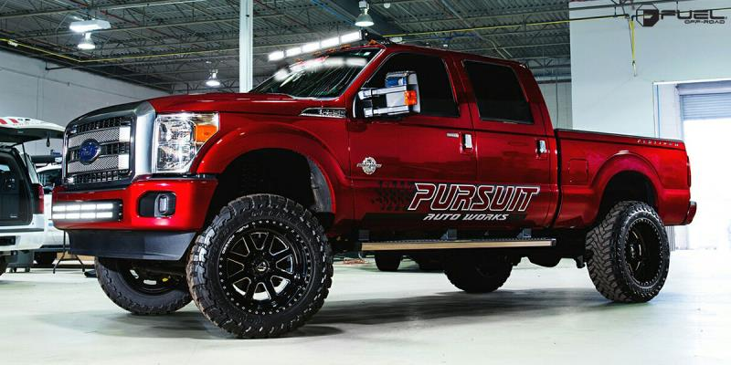 Ford F-350 with Fuel Forged Wheels FF09